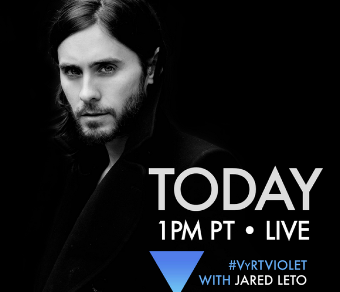 VyRT is live with Jared Leto!!!