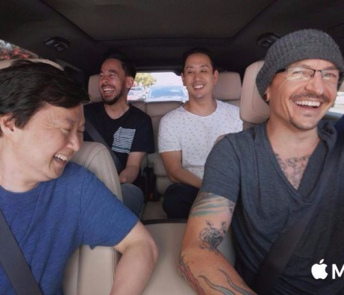 Watch Linkin Park's 'Carpool Karaoke' episode